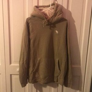 Abercrombie & Fitch green hoodie